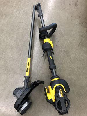 """Dewalt 60v Max FLEXVOLT 15"""" grass trimmer - tool only for Sale in Odessa, TX"""