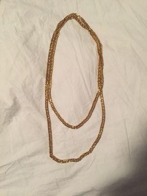 Long gold chain for Sale in Reston, VA