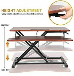 """Standing desk converter adjustable stand up desk 32""""inches brand new more {url removed} the picture for Sale in Santa Ana,  CA"""