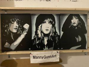 Original Paintings Stevie Nicks 11x14 set of 3 for Sale in Virginia Beach, VA