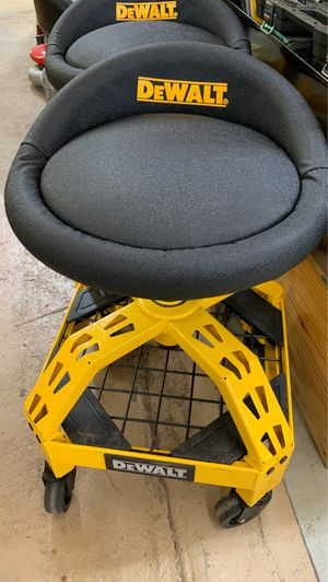 Out of box DeWalt Rolling Shop Stool for Sale in Tomball, TX