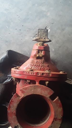 "4"" meuller resilient gate valve. Great condition for Sale in Cave Creek, AZ"
