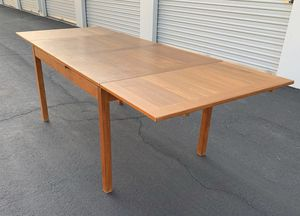 Mid century teak dining table for Sale in Downey, CA
