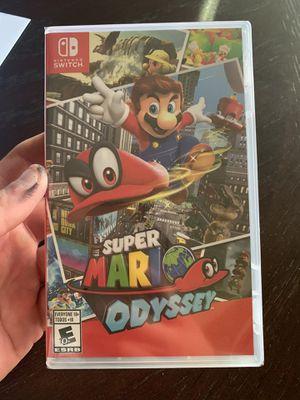 Super Mario Odyssey(BrandNew) Nintendo Switch for Sale in Riverside, CA
