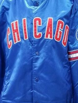 Vintage Chicago Cubs Starter jacket 2xl for Sale in Alexandria,  VA