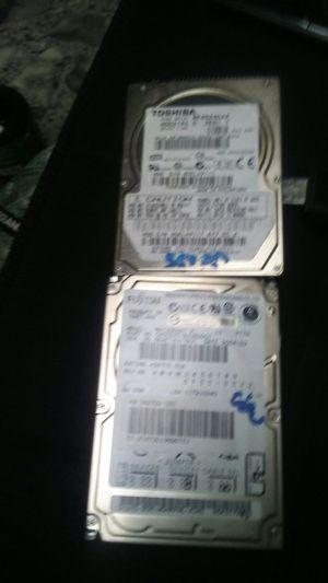 2 60 gig ide lap top hard drives for Sale in Salt Lake City, UT