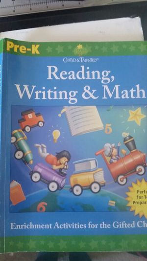 Reading and writing book. Pre k for Sale in Ashburn, VA