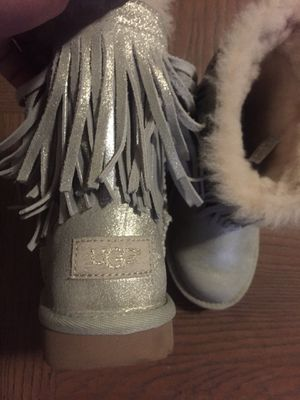 Girls metallic limited edition Ugg boots for Sale in Alexandria, VA