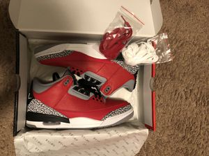 Retro 3 Jordan's- Size 11 for Sale in Saint Charles, MO