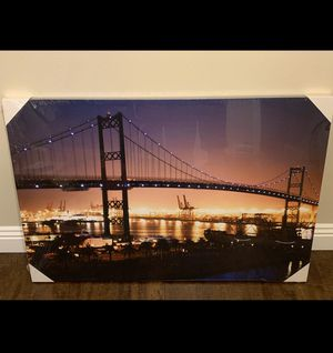 48x32 Printed Canvas LA WaterFront for Sale in Los Angeles, CA