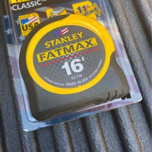 Stanley 16' Fatmax Measuring Tape for Sale in Corona, CA