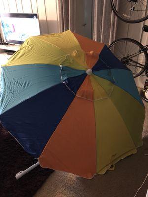 Multicolor beach umbrella tent for Sale in Los Angeles, CA