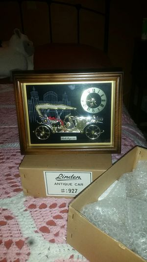 Antique gold car clock for Sale in Strongsville, OH