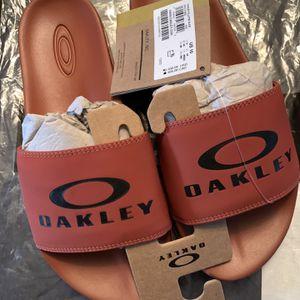 Oakley Ellipse slide Size 10 Mans Brand New for Sale in Deerfield Beach, FL