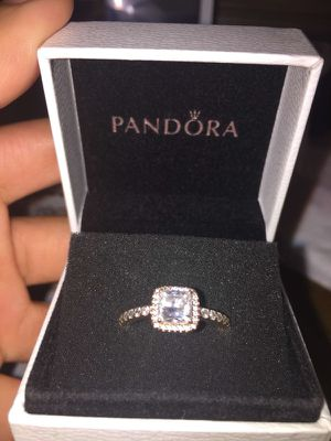Pandora Ring - Rose Gold - Size 6 for Sale in Silver Spring, MD