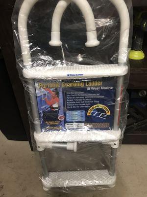 Portable boarding ladder for boats for Sale in Sunrise, FL