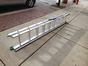 Werner ladder like new for Sale in Walton Hills, OH