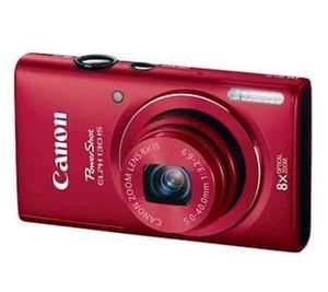 Canon Powershot Elph 130IS Digital Camera - Red with 8GB memory card included for Sale in Oak Park, MI