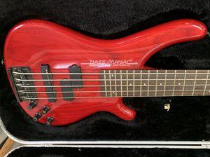 TUNE Bass Maniac Electric Bass Guitar TBJ52 w Hard Case for Sale in Danbury, CT
