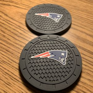 New England Patriots Cup Coasters for Car (NFL) for Sale in Ontario, CA