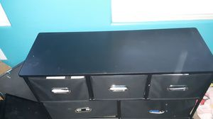 Black Console Table with Drawers for Sale in Buckeye, AZ