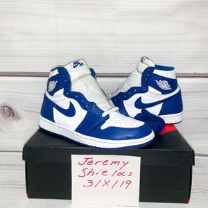 Jordan 1 Storm Blue | Size 10 | Used Excellent Condition (9.4/10) | OG Everything | Extra Laces Included for Sale in Vienna, VA