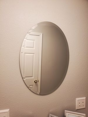 Frame less wall mirror for Sale in Tampa, FL