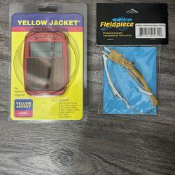 Yellow Jacket Digital Solar Gauge & Fieldpiece K-wet Bulb for Sale in Duluth,  GA