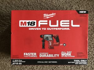 "M18 Fuel Milwaukee 1"" sds rotary hammer TOOL ONLY for Sale in Candler, NC"