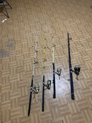 7ft and 10 ft Fishing rods for Sale in The Bronx, NY