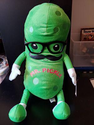 Mr pickle plush stuffed animal toy for Sale in Mercer Island, WA