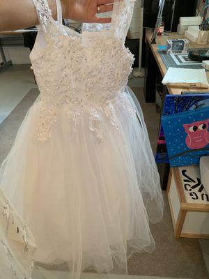 Girls flower girl dress for Sale in Niles, IL