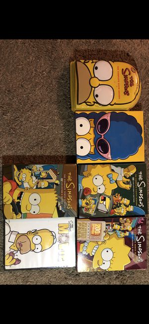 The Simpsons season 6-10 for Sale in Los Angeles, CA