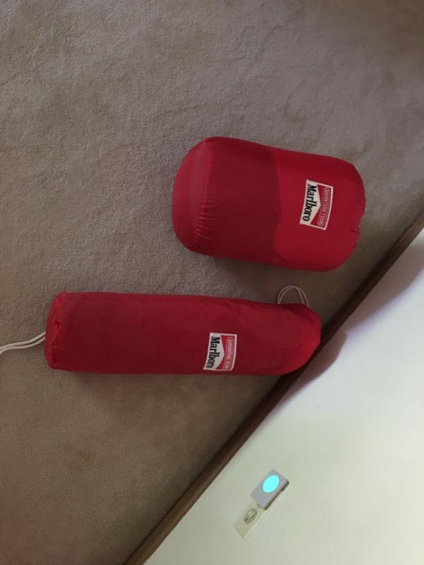 Tent and sleeping bag