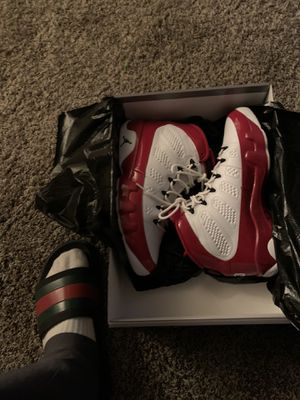 Air Jordan 9 Retro gym red size 9.5 for Sale in Bakersfield, CA