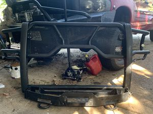 HDX Brush guard with winch Mount for Sale in Bridgeton, MO
