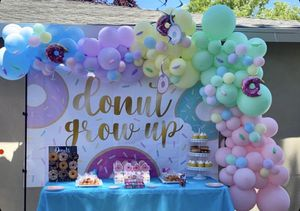 Balloon garland, arch, columns for Sale in Atwater, CA