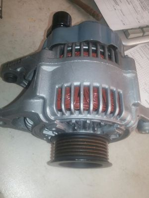 Alernator. Fits 1996-2000 caravan, town and country, voyager and others too. Like new for Sale in Ontario, CA
