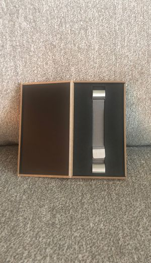 Fitbit charge 2 silver mesh band for Sale in San Antonio, TX