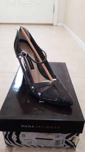 DANA BUCHMAN LOLA HIGH HEEL SHOES. WOMENS 8. NEW IN BOX. GREY for Sale in Spring Valley, CA