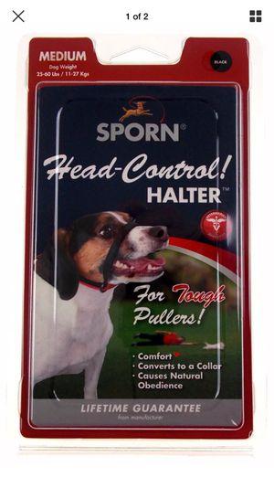 "SPORN For Dogs Medium ""Black"" Head Control Halter {Brand New} for Sale in Orlando, FL"