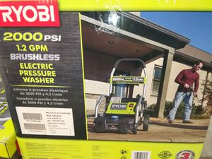 PRESSURE WASHER ELECTRIC 2000PSI for Sale in Phoenix, AZ