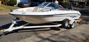 1996 17.5 searay boat 90hp outboard motor for Sale in Sacramento, CA