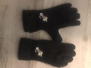 Black caddis brand kyak gloves for Sale in Wenatchee, WA
