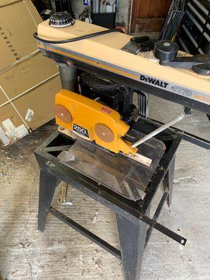 Dewalt 7770 Electrostop Dual Angle Radial Arm Saw for Sale in Wenatchee, WA