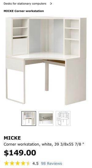 Micke IKEA Corner Desk for Sale in Hialeah, FL