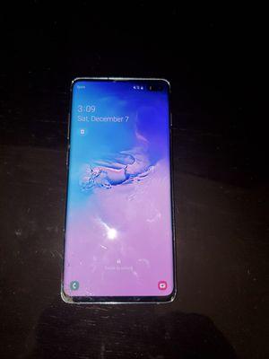 Samsung galaxy 10 plus ( cracked on back ) Sprint for Sale in Eastpointe, MI