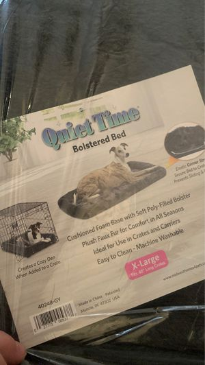 Xl crate dog bed for Sale in Pearland, TX