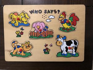 Animal sound puzzle for Sale in Virginia Beach, VA