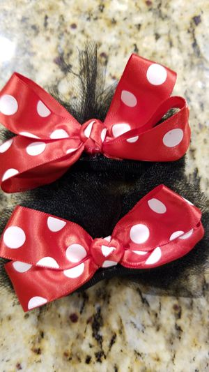 Tulle Mickey ears bows for Sale in Bakersfield, CA